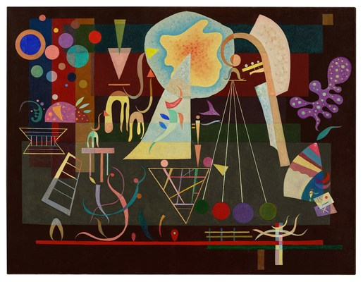 Calmed Tensions (1937) by Wassily Kandinsky, $29.4 million at Sotheby's London, the best UK auction result so far this year