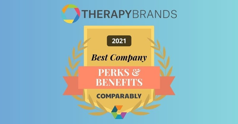 Therapy Brands Best Company Award